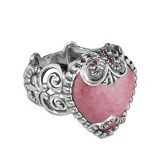 Carolyn Pollack Jewelry | Sincerely Fabulous Rhodonite Bold Ring