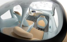 Futuristic Vehicle, Futuristic Car Interior