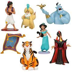 Aladdin Jasmine Figure Play Set | Figure Sets | Disney Store