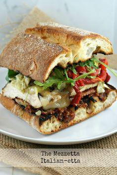 The Mezzetta Italian-Etta Sandwich