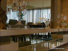 aparador gigante Living Room Color Schemes, Living Room Designs, Living Room Decor, Dining Room, Best Interior, Room Interior, Interior Design, Luxury Rooms, Lounge Decor
