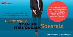 #Franquias Sóvarais - Seja agora um franqueado, venha crescer conosco. www.sovarais.com.br/franquia #franquia #varais