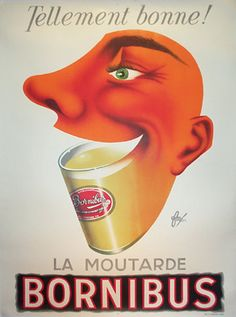 Fore Bornibus Moutarde by Galerie Montmartre