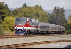 RailPictures.Net Photo: Amtrak 42 Amtrak GE P42DC at Mifflintown, Pennsylvania by Philip Banks