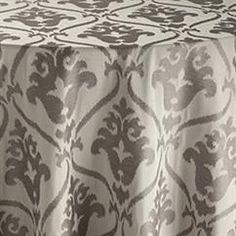 Gray Zuri Table Linen | BBJ Linen  #mint #palette #wedding #bbjlinen #bbjtablefashions