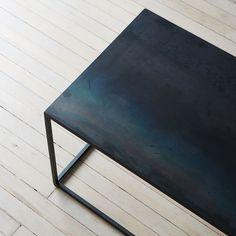 Blackened Steel Coffee Table on Food52