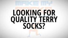 Custom Terry Socks  - more info about terry socks http://www.makemysocks.com/terry-socks/