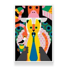 Animanimanimal - Craig and Karl   Giclee on Hahnemuhle 308gsm photo rag