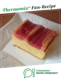 Recipe Rhubarb & Caramel Upside-Down Cake by amandafarr, learn to make this recipe easily in your kitchen machine and discover other Thermomix recipes in Baking - sweet. Vanilla Essence, Tarts, Sweet Recipes, Caramel, Cheesecake, Vegetarian, Community, Baking, Desserts