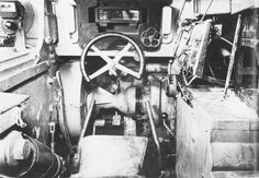 The driver of the tank Tiger I