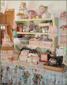 pretty and organized studio