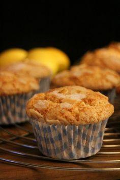 Muffins de ricotta y limón con almendras. Reto