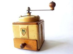 French Vintage Coffee Grinder Coffee Mill by PetitesChosesDeLaVie, $50.00