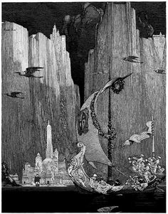 Franklin Booth - Pen and Ink