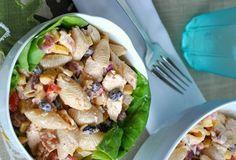 Zaika Pakwan: BBQ Chicken Southwest Pasta Salad