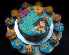 Hawaiian Cakes with Cupcakes