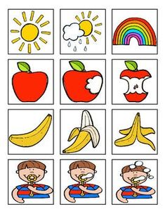 Sequencing Boards by Traci Bender - The Bender Bunch Aba Therapy Activities, Preschool Learning Activities, Free Preschool, Kids Learning, Activities For Kids, Sequencing Worksheets, Sequencing Cards, Story Sequencing, Sequencing Pictures