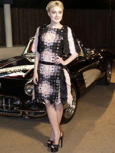 Dakota Fanning in Chanel