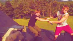 """""""Alex, Bro, it's just practice"""".   """"There is no Alex, only Cato!""""  Hahahaha"""