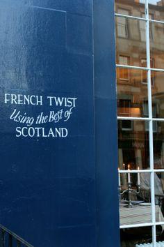 L'escargot bleu Edinburgh