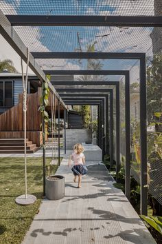 NIELSEN JENKINS. — L&O BARDON Outdoor Pergola, Backyard Patio, Backyard Landscaping, Outdoor Spaces, Outdoor Living, Landscape Architecture, Landscape Design, Shade Structure, Pergola Designs