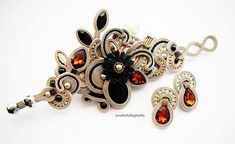 Check out this item in my Etsy shop https://www.etsy.com/listing/583717097/light-cream-soutache-set-fashion