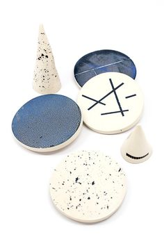 We love how each coaster has a unique and delightful design. Definitely coffee table worthy!  www.mooreaseal.com