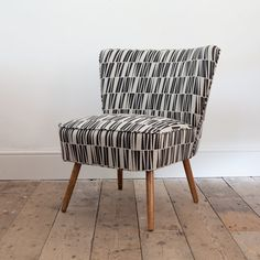 Original vintage 1950s cocktail chair by OwlAndTheElephant on Etsy