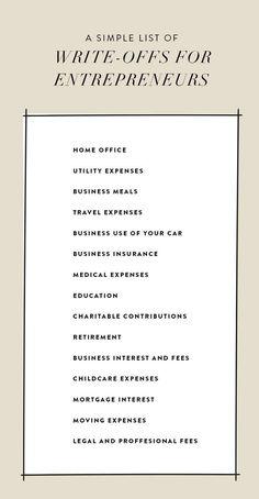 The Entrepreneur's Guide To Tax Season  |  The Fresh Exchange #TheEntrepreneur