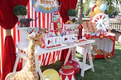 Circus Birthday Party Ideas | Photo 1 of 17 | Catch My Party
