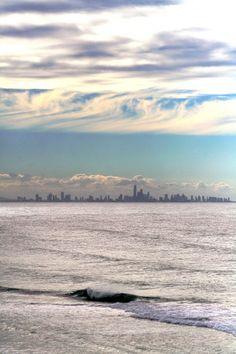 Kirra, gold coast w/surfers paradise in bg. summer 06