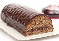 Srnin hrbet z rdečim vinom Banana Bread, Sweets, Desserts, Food, Cake Rolls, Butter, Cakes, Austrian Recipes, Vanilla