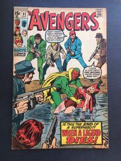 The Avengers #81 (Oct 1970) Marvel Comics