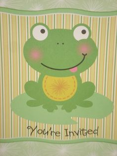 frog cakes   Cakes by Renee: A Girly Frog Cake