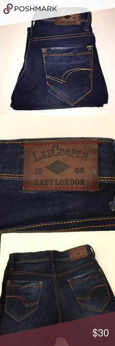 161f1899299 Lee Cooper London regular leg 30x34 Blue Jeans Lee Cooper jeans Regular Leg  Size 30 x