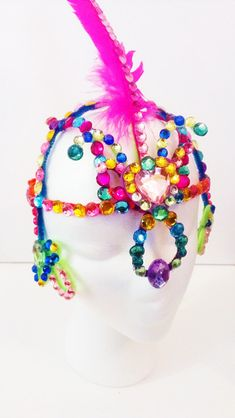 Make your own carnival headpiece - SocaMom.com
