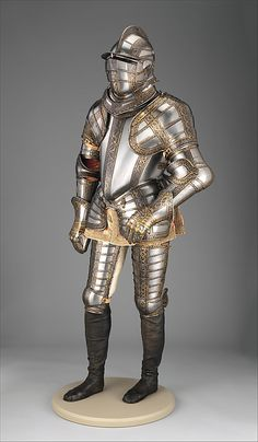 Armor of Sir James Scudamore Jacob Halder (English, master armorer at royal workshops at Greenwich, documented in England 1558–1608)
