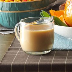 Creamy Turkey Gravy Recipe -With my easy recipe, even someone who has never made homemade gravy before can be assured of success. —Phyllis Schmalz, Kansas City, Kansas.