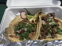 Steak and pork tacos can be ordered from the walk-up window at Rivera Famous Grill, a Mexican eatery at 7313 Lancaster Pike in Hockessin. (Photo: Patricia Talorico/The News Journal)