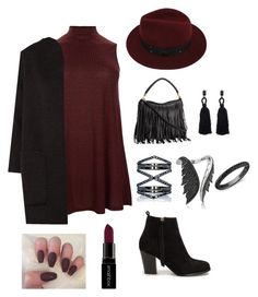 Untitled #2 by serays on Polyvore featuring polyvore, fashion, style, Jaeger, Nly Shoes, Stephen Webster, Eva Fehren, Oscar de la Renta, Sans Souci, Smashbox and clothing