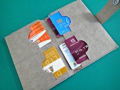 The Minimalist Kraft Tex Wallet