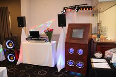 Lights & Sights Entertainment have a range of services available including: Live DJ, Facepainting, Jukebox, Jumping Castles & Candy Buffet.