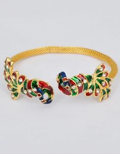 Peacock Imitation Jewellery Bracelet Indian