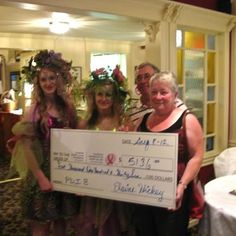 Hickey's Greenhouses in Dunville and Placentia raise an awesome amount for breast cancer research during Pink Days In Bloom, Summer 2012.