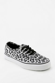 Vans Authentic Leopard Print Sneaker #urbanoutfitters