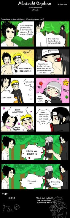 Comic 3: Comic 1: Beginning: Here you go! Now I wonder who is pwned in this comic... I think Itachi... I was really lazy at the last 4 panels. School started again and I'm not really in a mood to s...