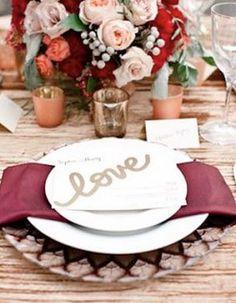 Pantone Color of the Year for 2015: Marsala - www.theperfectpalette.com #pantone | Marsala Wedding Colors