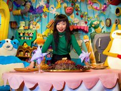 Food Party Hostess Thu Tran at Everything Is Festival Tomorrow