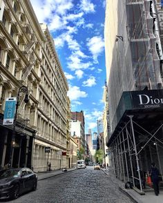 Another beautiful day in soho by @scottlipps #newyorkcityfeelings #nyc #newyork