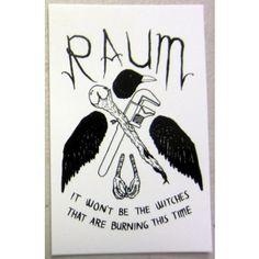 Blackbird Raum sticker